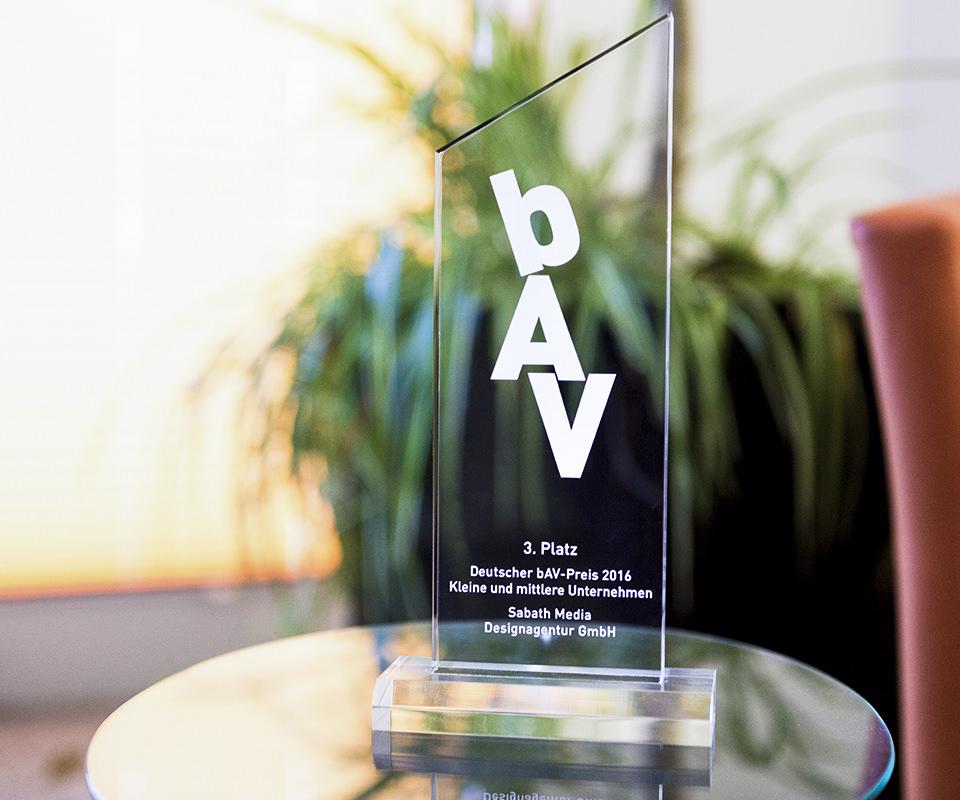 Sabath Media Blog - Deutscher bAV-Preis 2016 - Bild 1