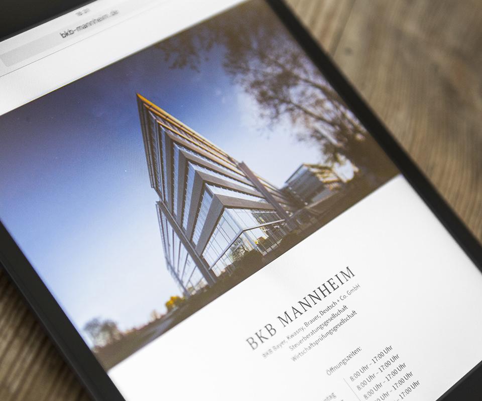 Sabath Media Werbeagentur - BKB – Website - Referenzbild 1