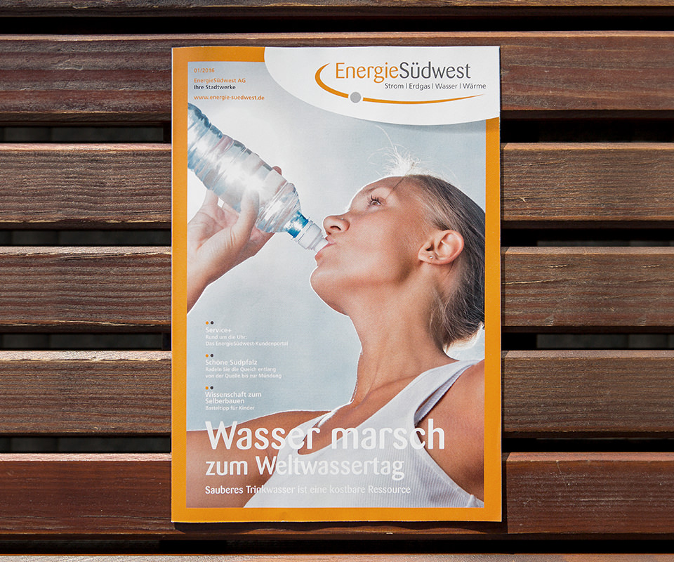 Sabath Media Werbeagentur - Energie Südwest – Kundenmagazine - Referenzbild 2