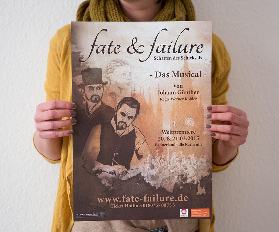Sabath Media Werbeagentur - Fate & Failure – Branding - Referenzbild 1