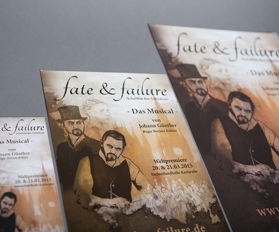 Sabath Media Werbeagentur - Fate & Failure – Branding - Referenzbild 2