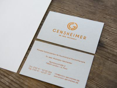 Sabath Media - Projekt Vorschaubild - Gensheimer – Corporate Design