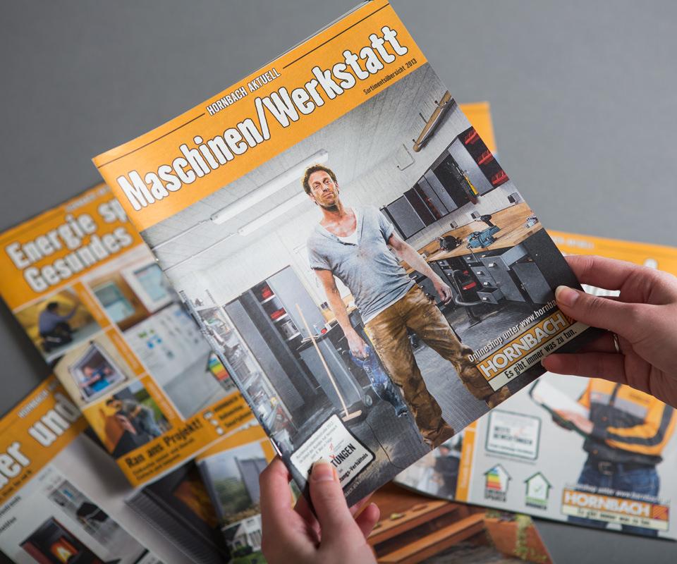 Sabath Media Werbeagentur - HORNBACH – Magazine / Projektkataloge - Referenzbild 1