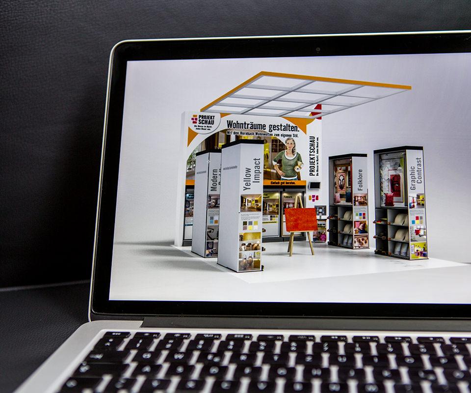 Sabath Media Werbeagentur - HORNBACH – Projektschau - Referenzbild 1
