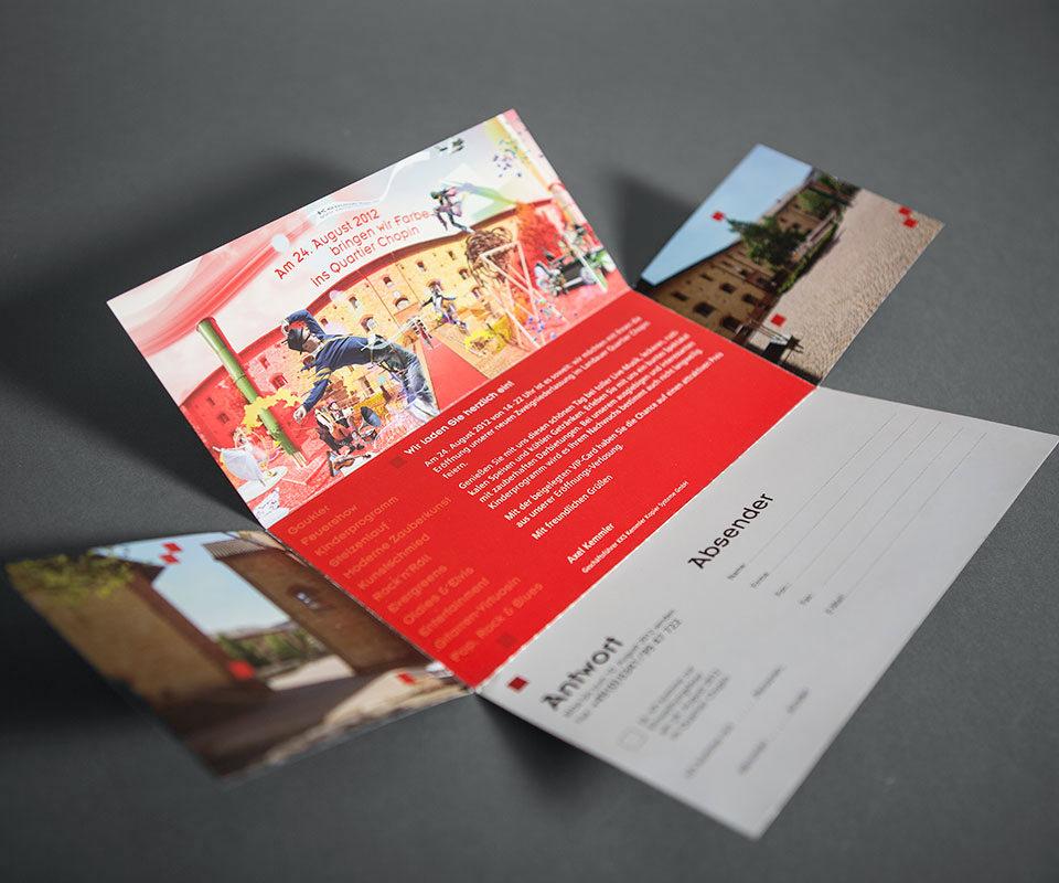 Sabath Media Werbeagentur - Kemmler Kopier Systeme – Einladung - Referenzbild 2