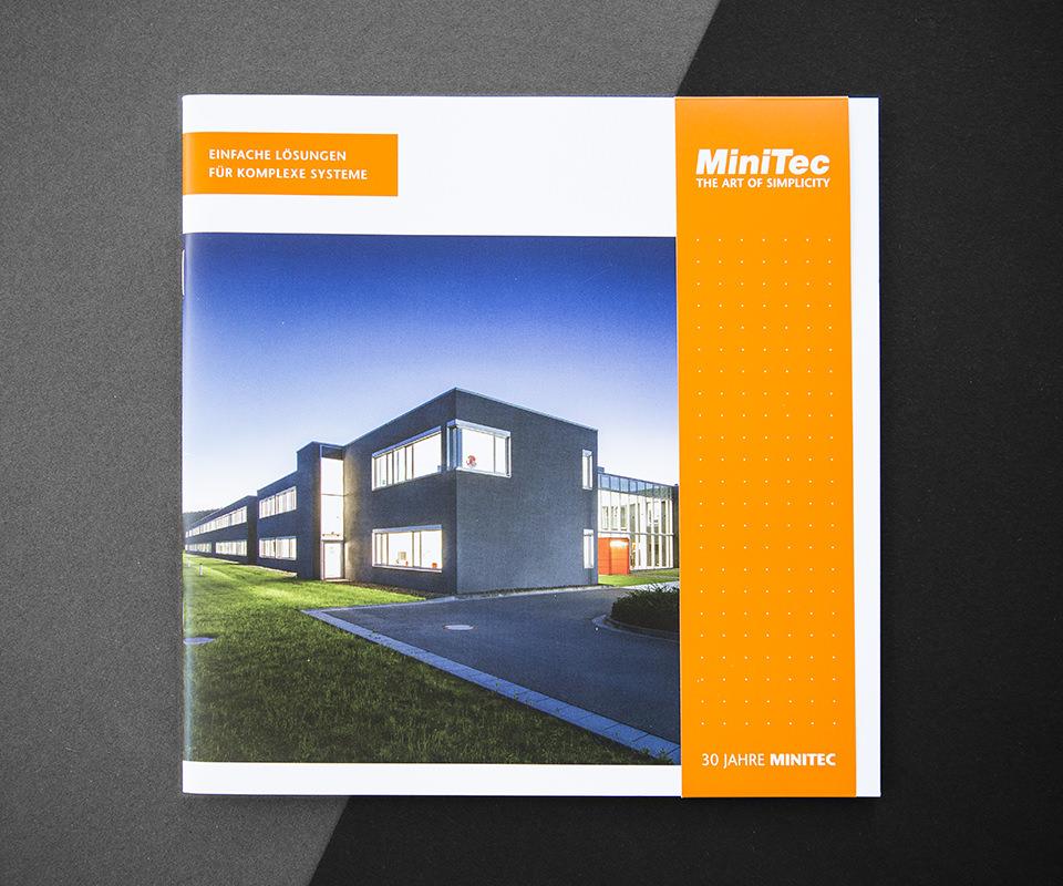Sabath Media Werbeagentur - Minitec – Broschüre - Referenzbild 1
