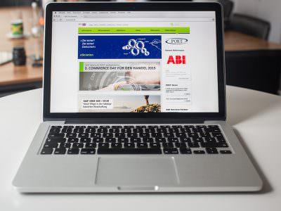 Sabath Media - Projekt Vorschaubild - POET AG – Website