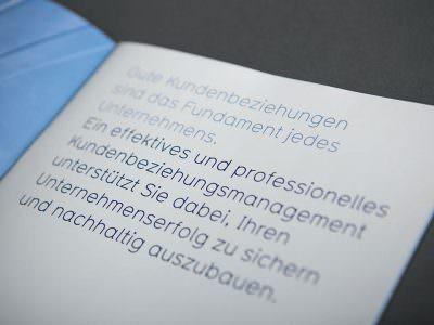 Sabath Media - Projekt Vorschaubild - Smart CRM – Broschüre