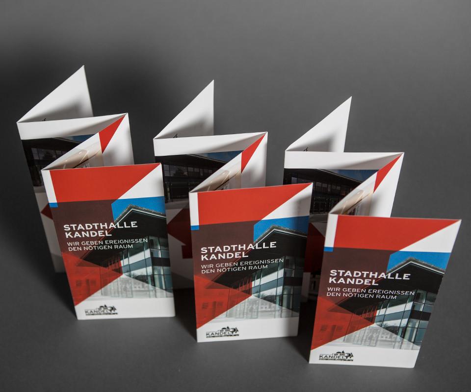 Sabath Media Werbeagentur - Stadthalle Kandel – Branding - Referenzbild 3