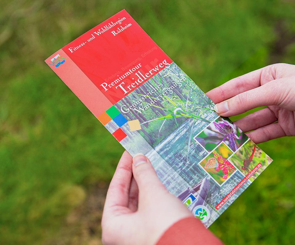 Sabath Media Werbeagentur - Südpfalz Tourismus – Flyer - Referenzbild 1