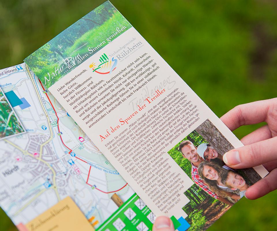 Sabath Media Werbeagentur - Südpfalz Tourismus – Flyer - Referenzbild 3