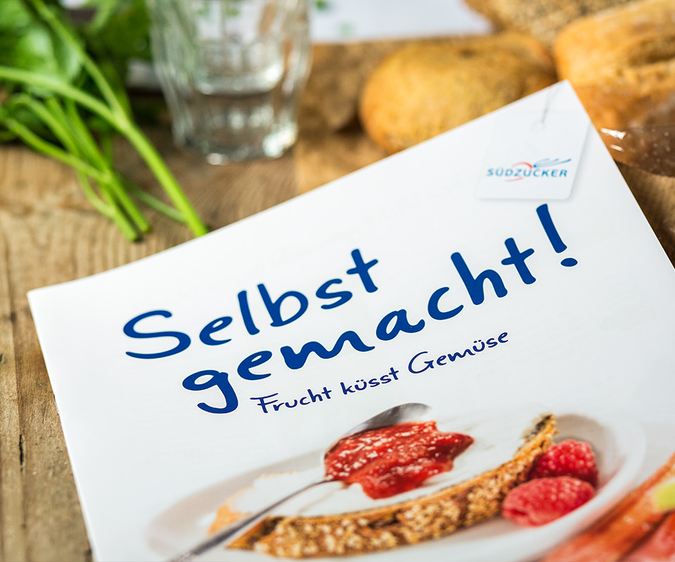 """Sabath Media Werbeagentur - Südzucker – Broschüre """"Selbst gemacht"""" - Referenzbild 1"""