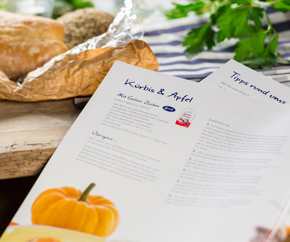 """Sabath Media Werbeagentur - Südzucker – Broschüre """"Selbst gemacht"""" - Referenzbild 2"""