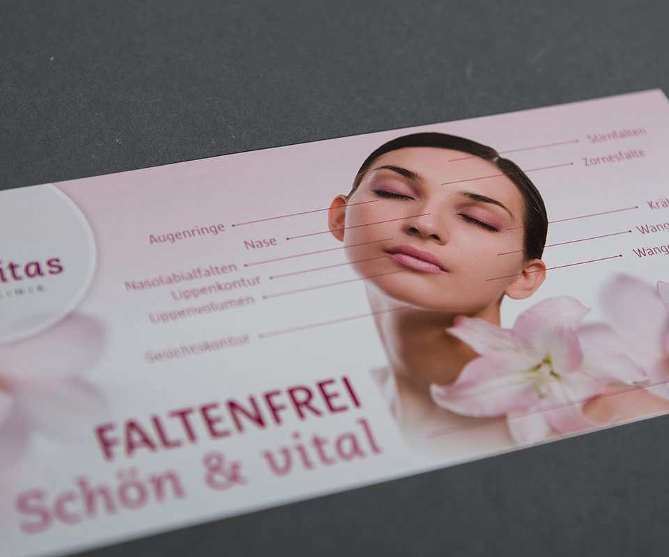Sabath Media Werbeagentur - Vitalitas – Printmittel - Referenzbild 2