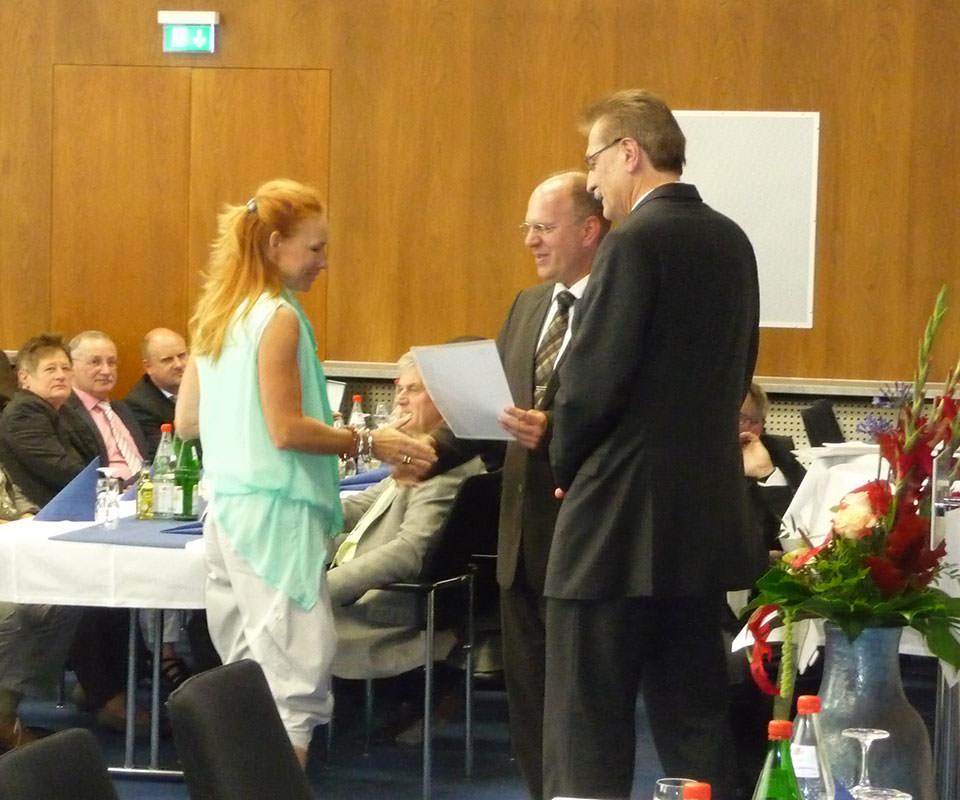 Sabath Media Blog - Verleihung der IHK Ehrennadel - Bild 1