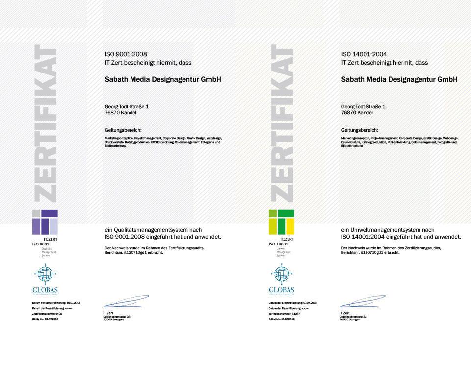 Sabath Media Blog - ISO Zertifizierung – ein Meilenstein - Bild 2