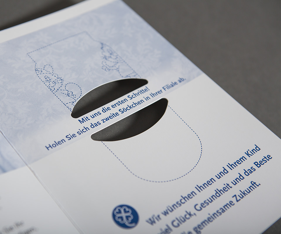 Sabath Media Werbeagentur - BB Bank – Glückwunschkarte - Referenzbild 1