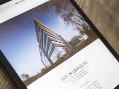 Sabath Media - Projekt Vorschaubild - BKB – Website