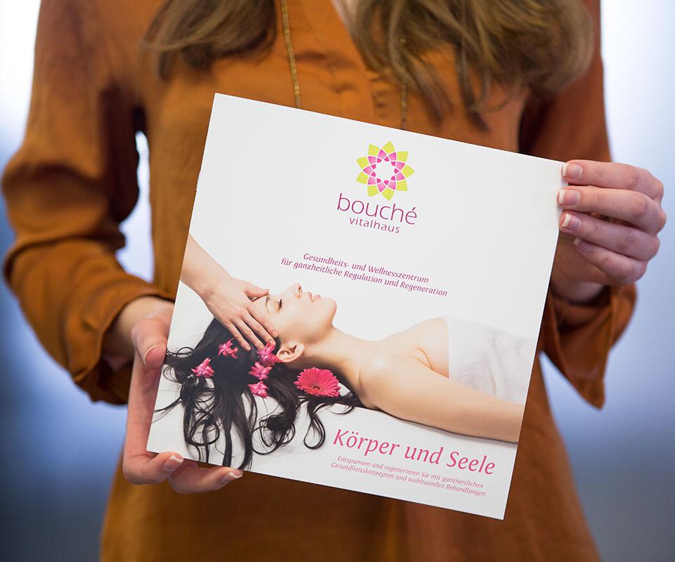Sabath Media Werbeagentur - Bouché Vitalhaus – Branding - Referenzbild 1