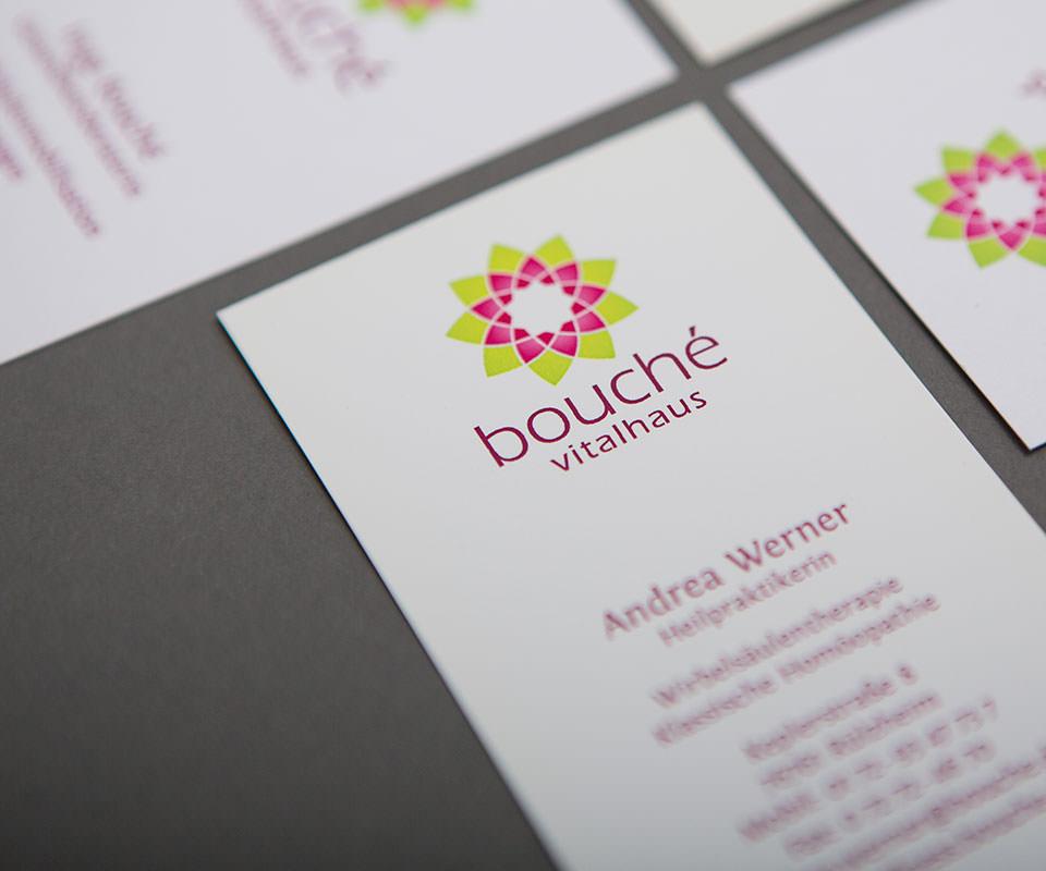 Sabath Media Werbeagentur - Bouché Vitalhaus – Branding - Referenzbild 3