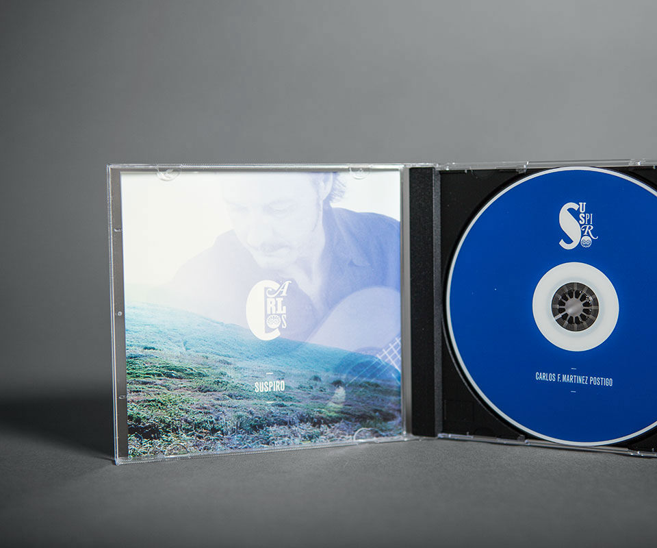 Sabath Media Werbeagentur - Carlos Martinez – CD Cover - Referenzbild 2