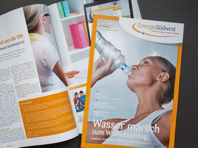 Sabath Media - Projekt Vorschaubild - Energie Südwest – Kundenmagazine
