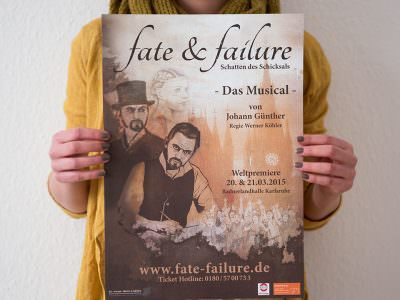 Sabath Media - Projekt Vorschaubild - Fate & Failure – Branding