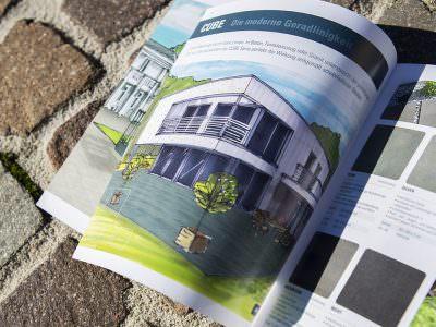 Sabath Media - Projekt Vorschaubild - Hornbach – Flairstone Broschüre