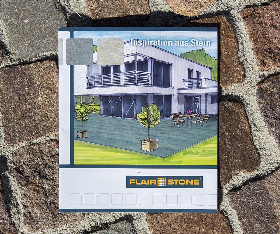 Sabath Media Werbeagentur - Hornbach – Flairstone Broschüre - Referenzbild 2