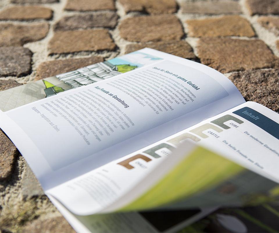 Sabath Media Werbeagentur - Hornbach – Flairstone Broschüre - Referenzbild 4