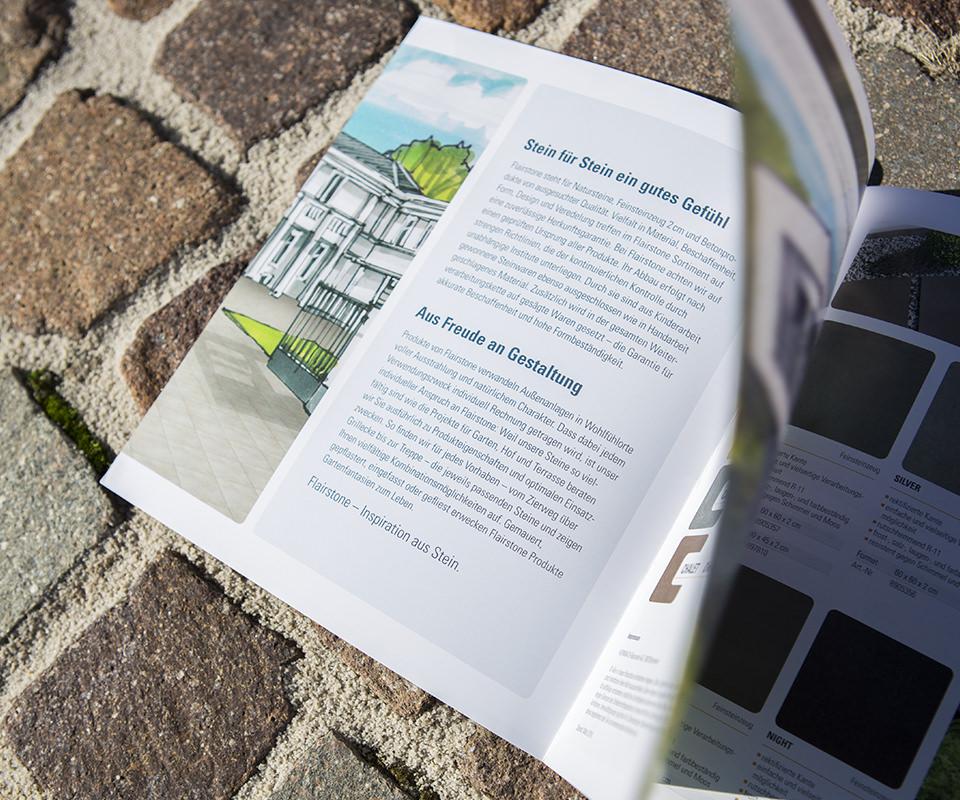Sabath Media Werbeagentur - Hornbach – Flairstone Broschüre - Referenzbild 5
