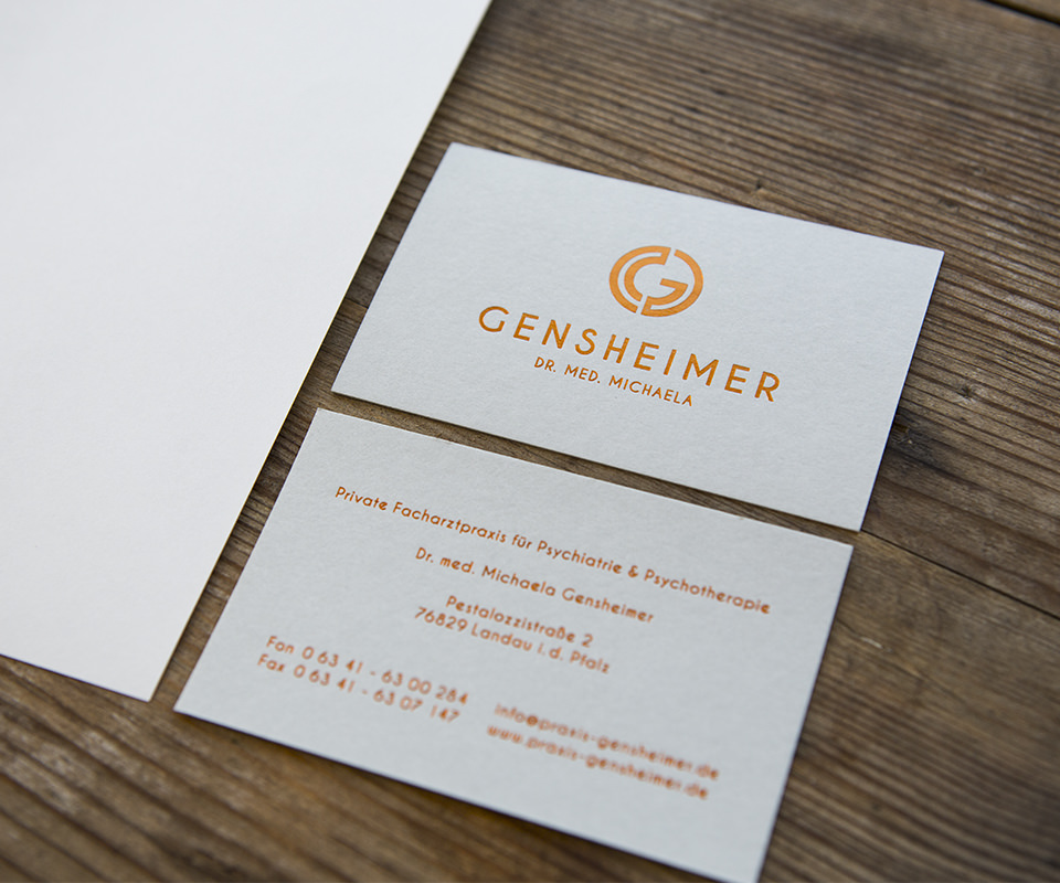 Sabath Media Werbeagentur - Gensheimer – Corporate Design - Referenzbild 1
