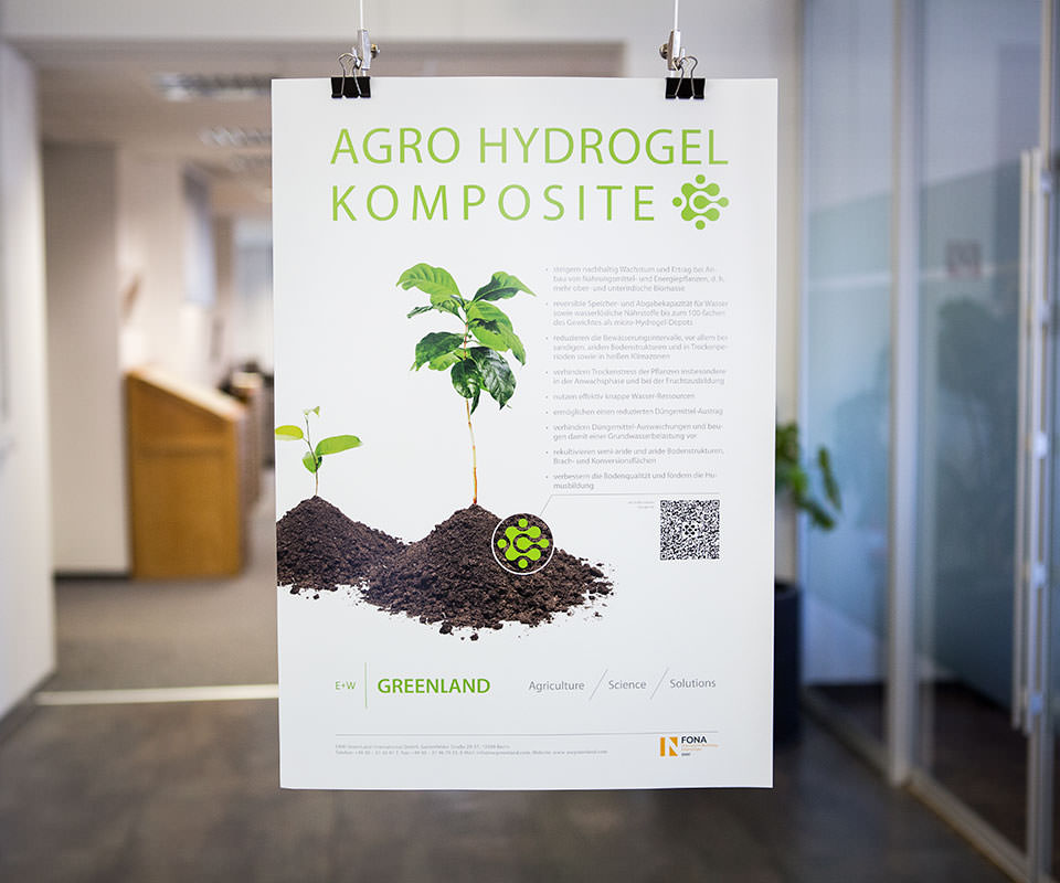 Sabath Media Werbeagentur - E+W Greenland – Corporate Design - Referenzbild 1