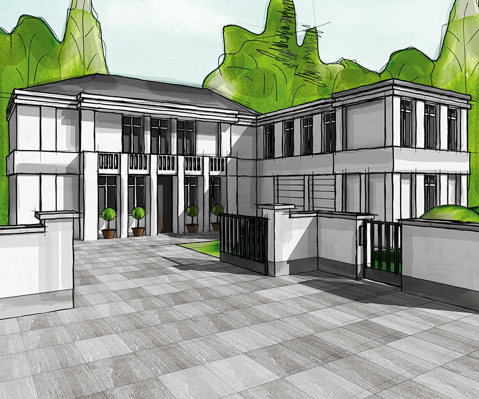 Sabath Media Werbeagentur - Hornbach – 3D-Visualisierung - Referenzbild 3