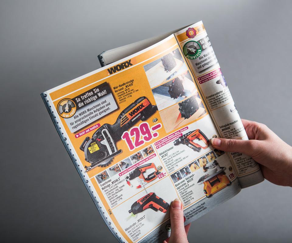Sabath Media Werbeagentur - HORNBACH – Magazine / Projektkataloge - Referenzbild 2