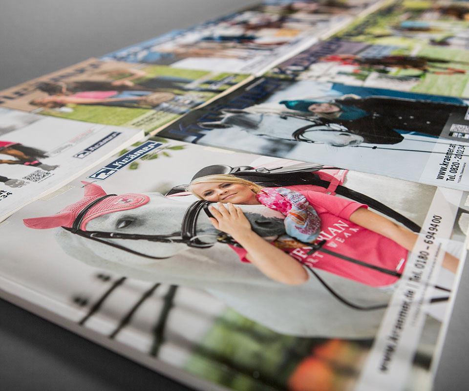 Sabath Media Werbeagentur - Krämer Pferdesport – Kataloge - Referenzbild 2