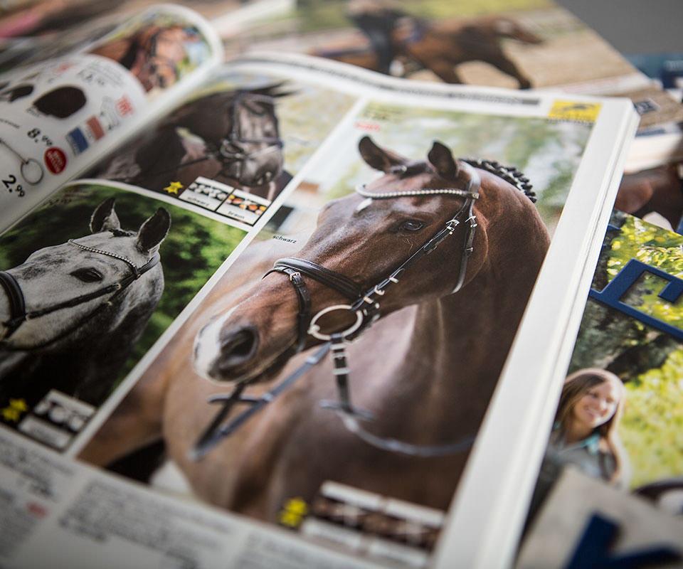 Sabath Media Werbeagentur - Krämer Pferdesport – Kataloge - Referenzbild 3