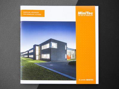 Sabath Media - Projekt Vorschaubild - Minitec – Broschüre