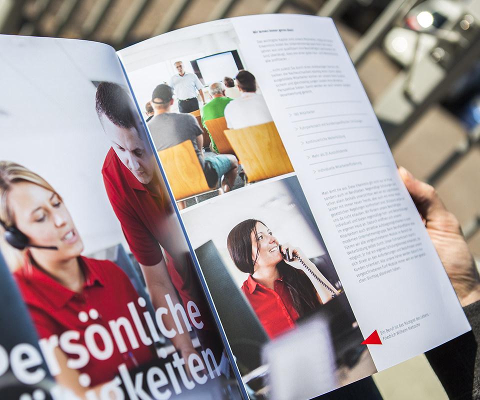 Sabath Media Werbeagentur - Spedition Nuss – Broschüre - Referenzbild 4