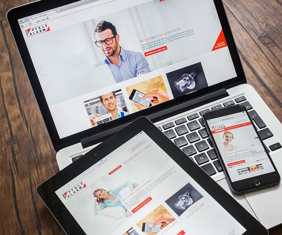 Sabath Media Werbeagentur - Pfalz Alarm – Website - Referenzbild 1