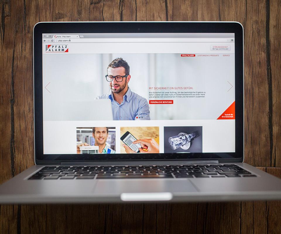 Sabath Media Werbeagentur - Pfalz Alarm – Website - Referenzbild 2