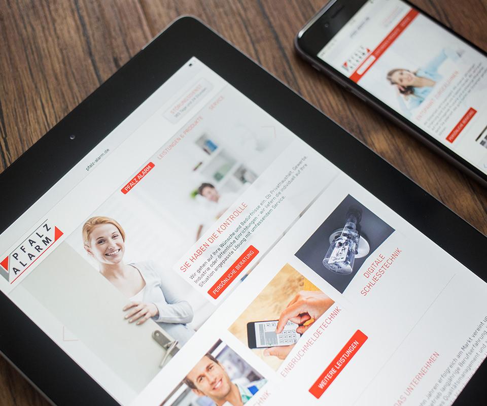 Sabath Media Werbeagentur - Pfalz Alarm – Website - Referenzbild 4