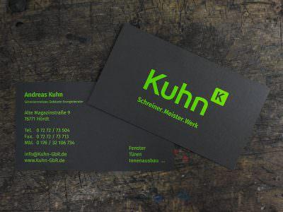 Sabath Media - Projekt Vorschaubild - Schreinerei Kuhn – Corporate Design