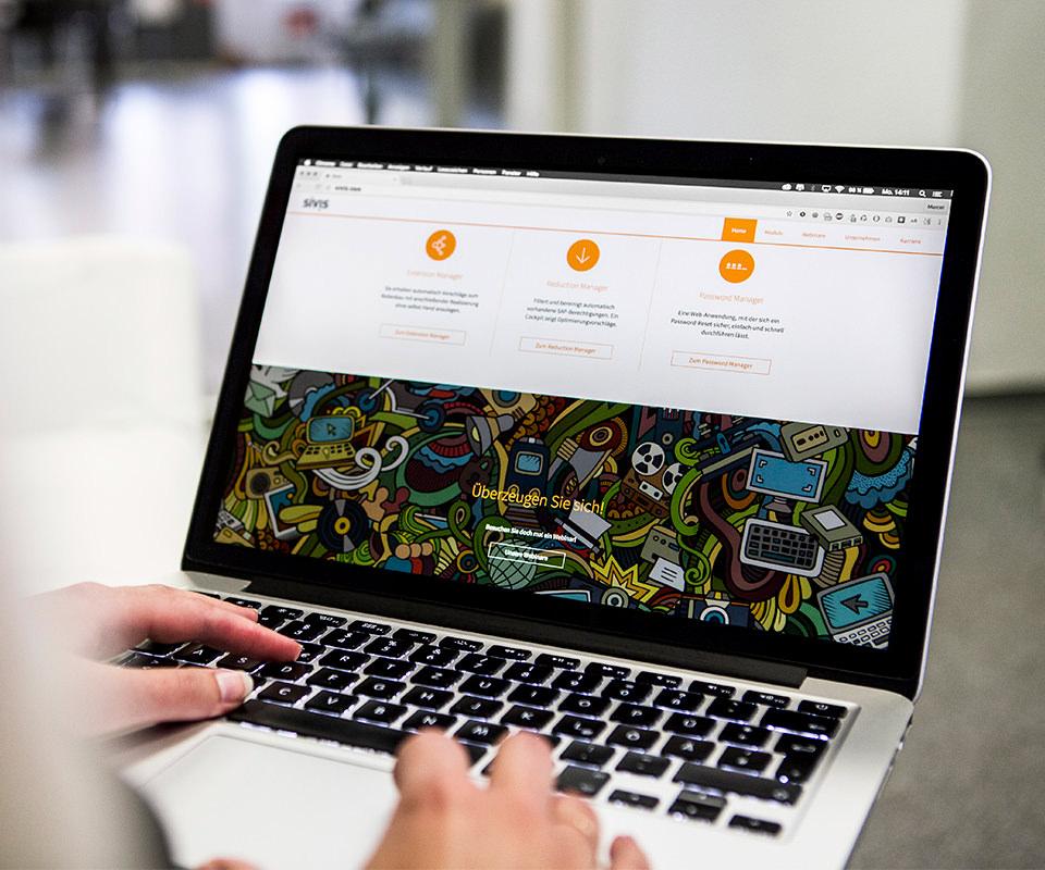 Sabath Media Werbeagentur - Sivis – Website - Referenzbild 1