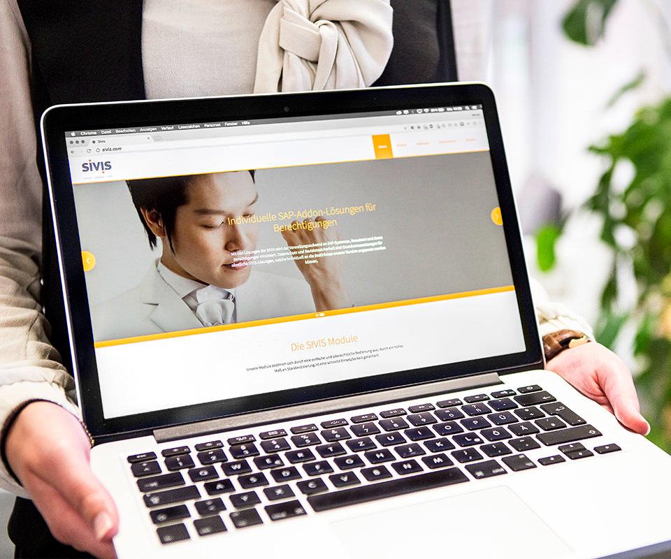 Sabath Media Werbeagentur - Sivis – Website - Referenzbild 2
