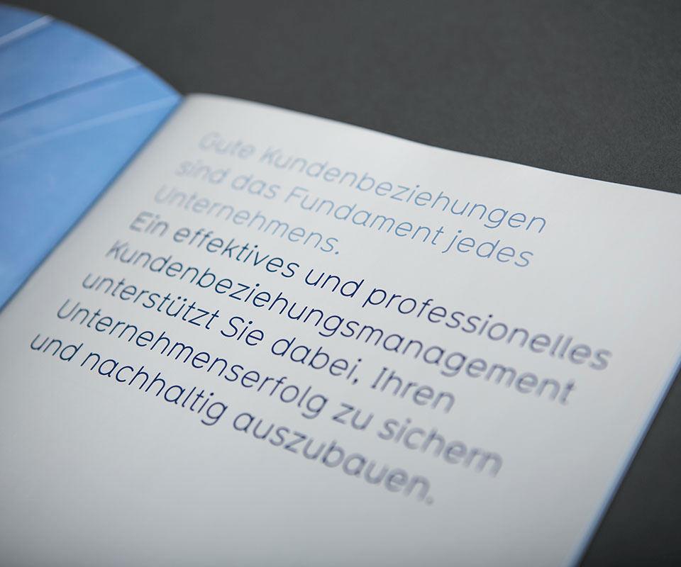Sabath Media Werbeagentur - Smart CRM – Broschüre - Referenzbild 1