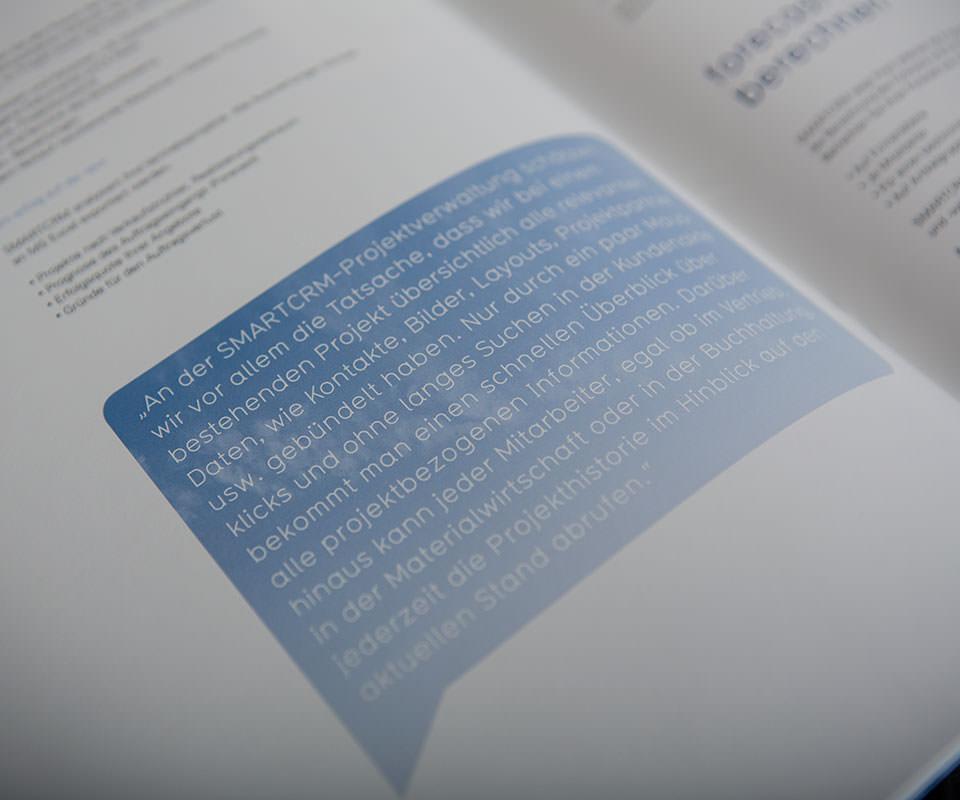 Sabath Media Werbeagentur - Smart CRM – Broschüre - Referenzbild 3