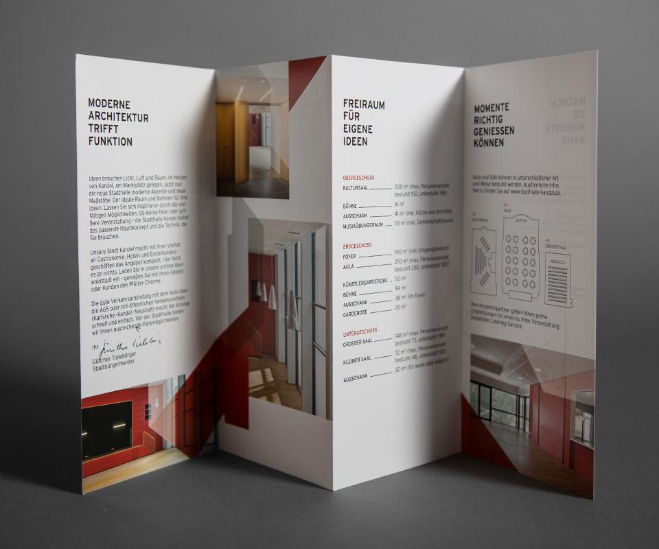 Sabath Media Werbeagentur - Stadthalle Kandel – Branding - Referenzbild 1