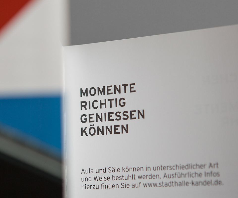 Sabath Media Werbeagentur - Stadthalle Kandel – Branding - Referenzbild 4
