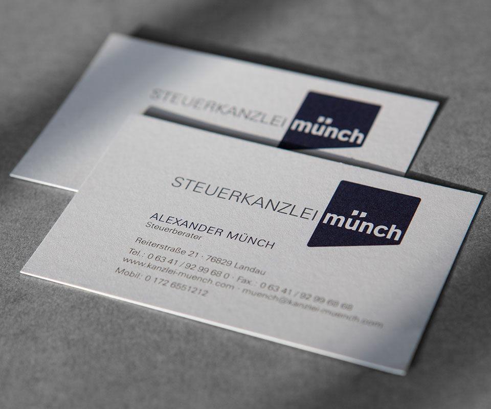 Sabath Media Werbeagentur - Steuerkanzlei Münch – Broschüre - Referenzbild 1